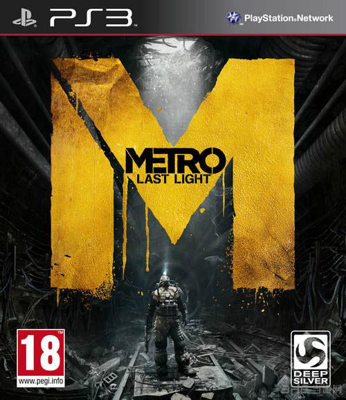 地铁最后的曙光PS3版游戏封面图