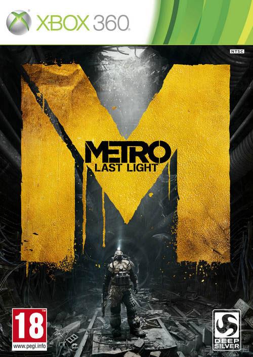 地铁最后的曙光Xbox 360版游戏封面图