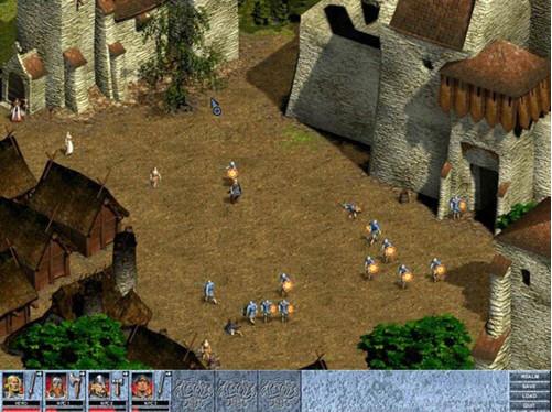 瓦尔哈拉神殿外传是一款以北欧神话为背景的RPG游戏,游戏中你将看到很多充满异域风情的场景比如用岩石堆砌的房子,造型奇特的木舟等等,神话中的泰坦巨人,凶残的龙也会出现,你将控制由各种不同职业的勇者组成的小队探险,依靠团队的力量打败一个有一个强大的敌人。