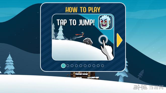 滑雪大冒险无限金币版截图1