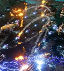 命令与征服之红色警戒3最新经典截图欣赏 华丽的战斗场景