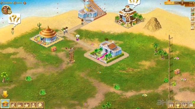 天堂岛无限金币版截图2