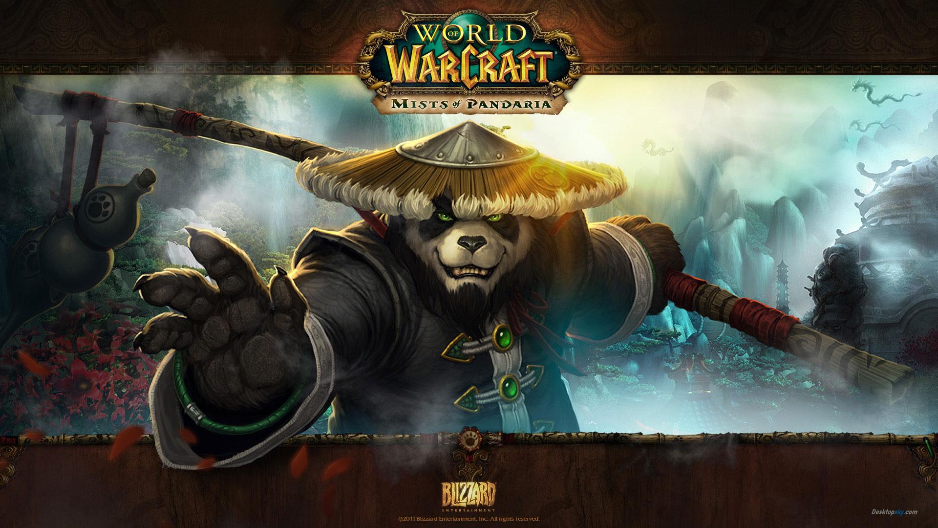 魔兽世界熊猫人之谜最新高清壁纸公布 好战