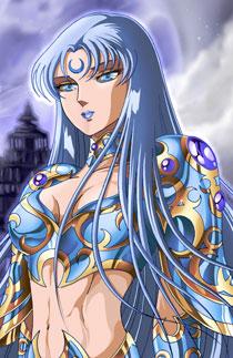 圣斗士星矢h漫图欣赏清澈脱俗犹如性感女神