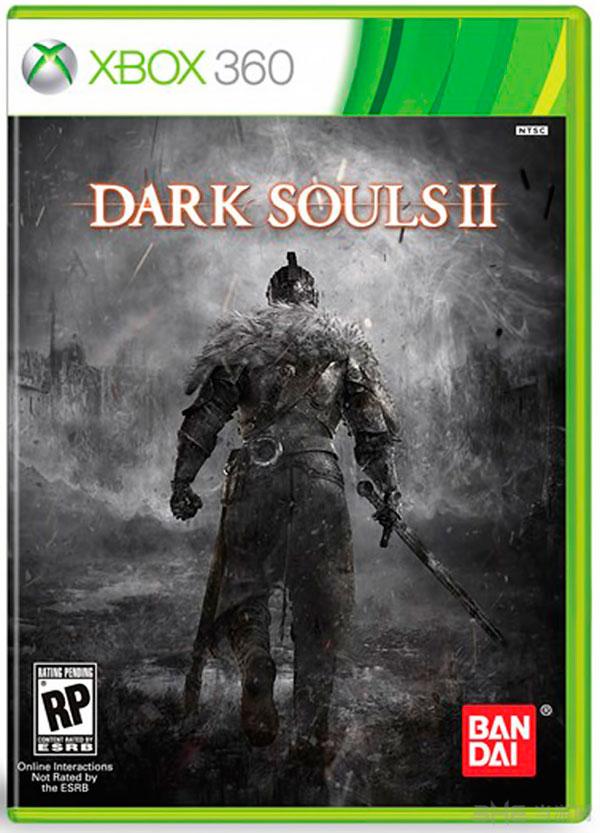 黑暗之魂2xbox360版游戏封面