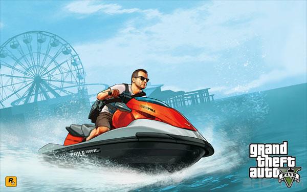 GTA5最新艺术设定图公布