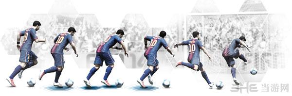 FIFA14纯净射击系统技术演示图片
