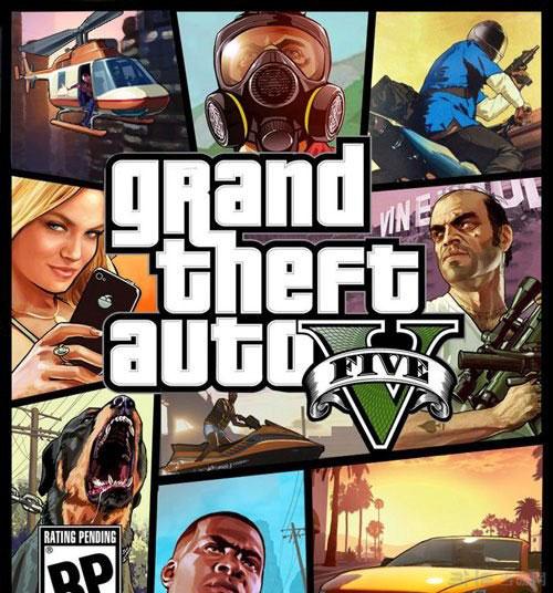 玩家自制的GTA5游戏封面