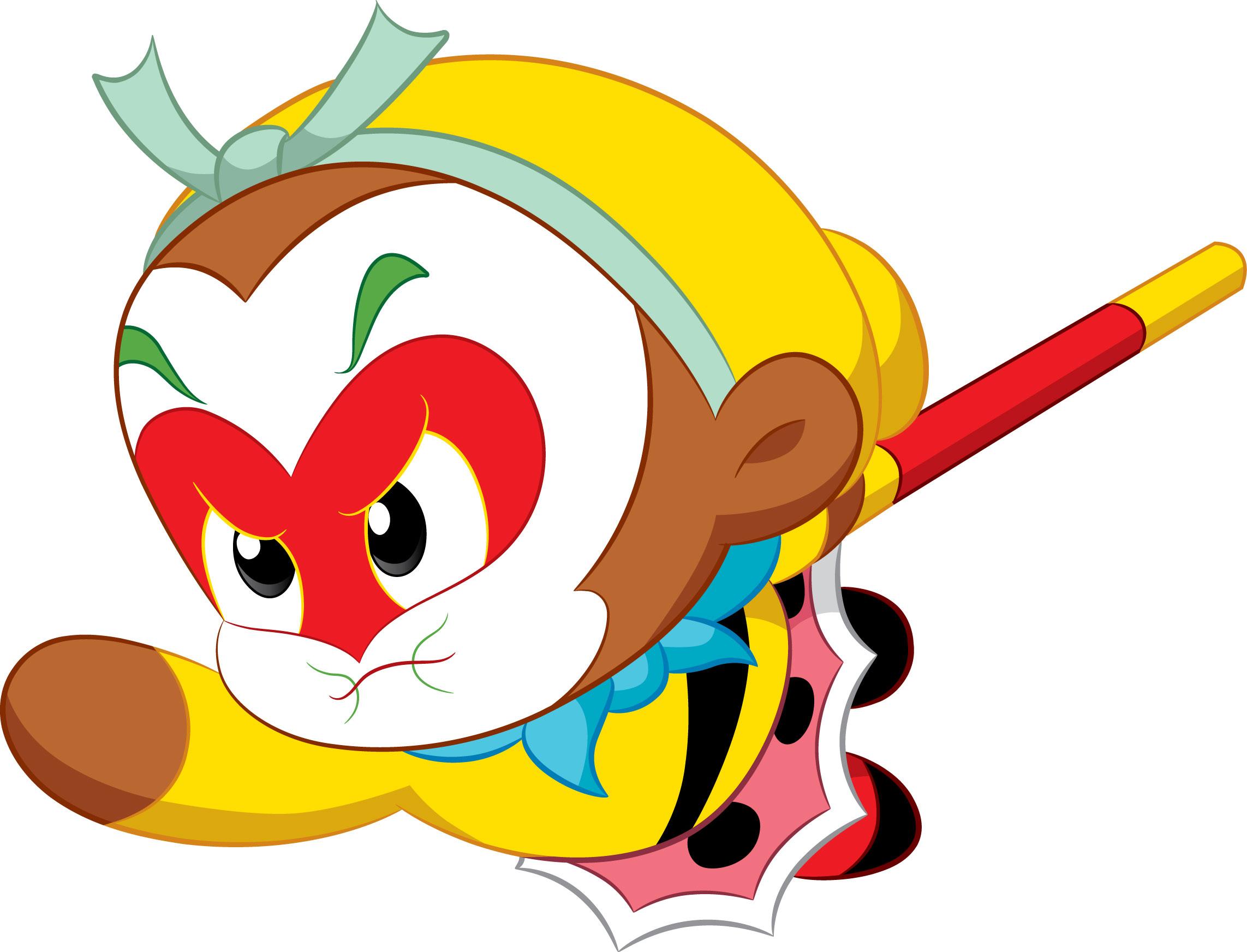 小编收集了美猴王孙悟空的一些经典手绘美图