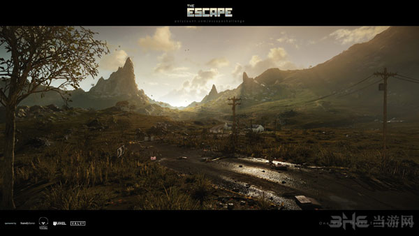 一周ce3引擎mod美图欣赏 夕阳西下的废弃乡村风景
