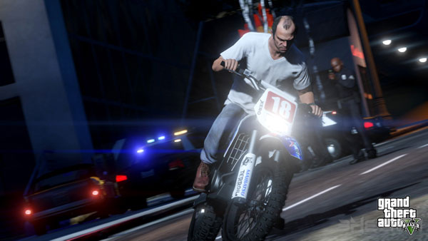 GTA5最新截图释出 有组织有预谋的街头犯罪
