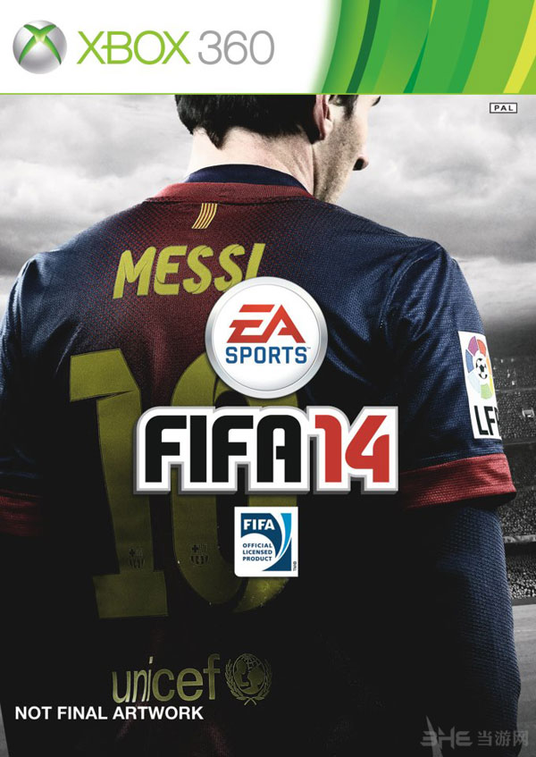 FIFA14 xbox封面
