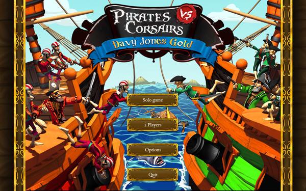 海盗战争:戴维琼斯的宝藏截图0