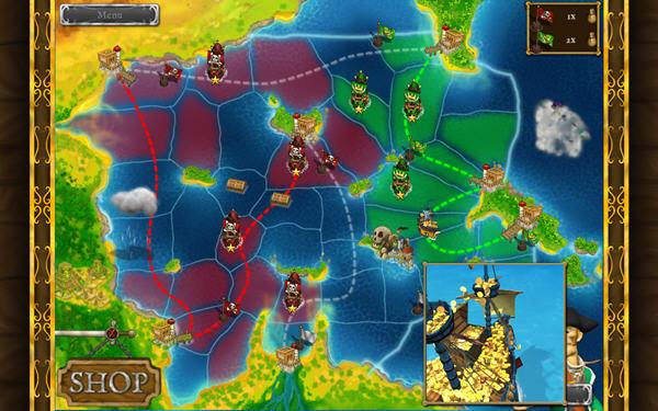 海盗战争:戴维琼斯的宝藏截图3