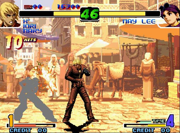 拳皇十周年纪念版截图0