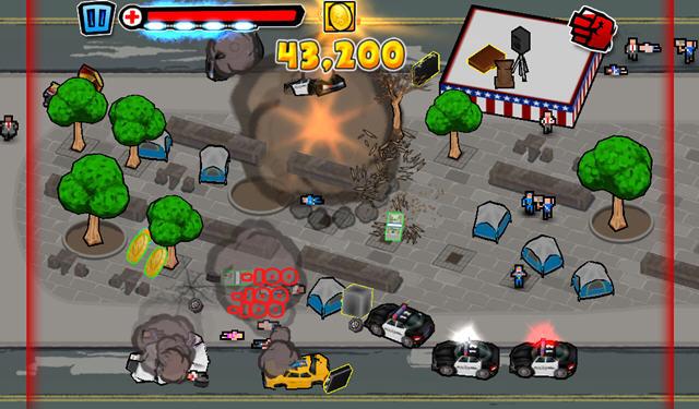 泰坦袭击华尔街电脑版截图1