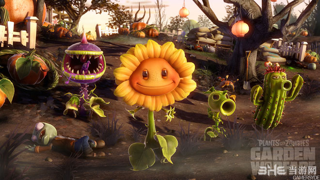 植物大战僵尸:花园战争游戏截图