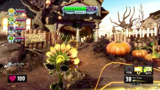 2013E3游戏展植物大战僵尸:花园战争图片