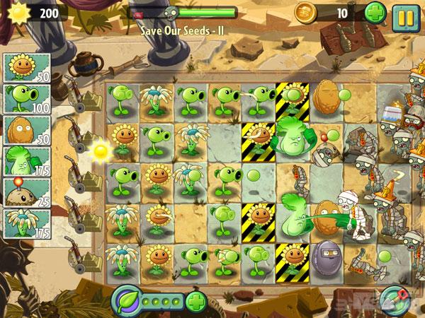 植物大战僵尸2截图