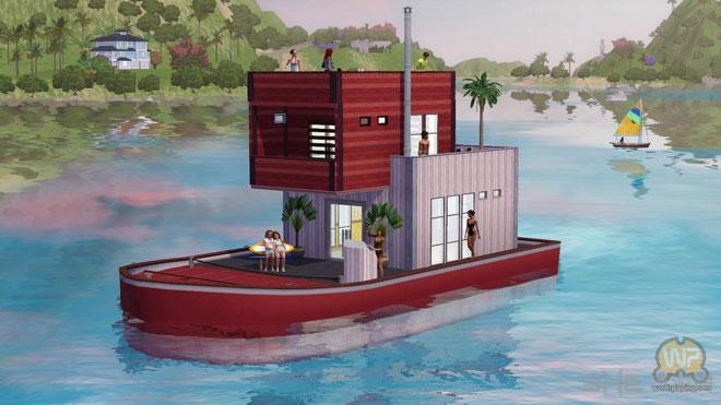 模拟人生3天堂小岛汉化中文破解版下载a天堂岛屿由你玩转灵山美食节图片
