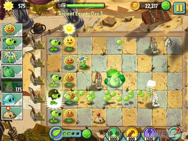 植物大战僵尸2实际截图