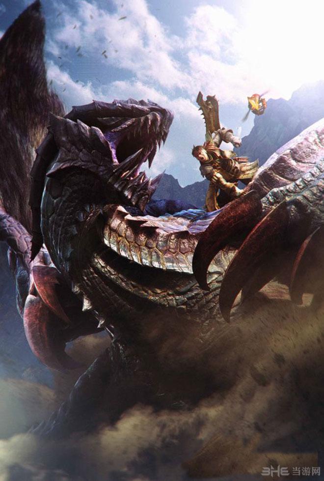 3ds怪物猎人4超视觉震撼图片最新发布