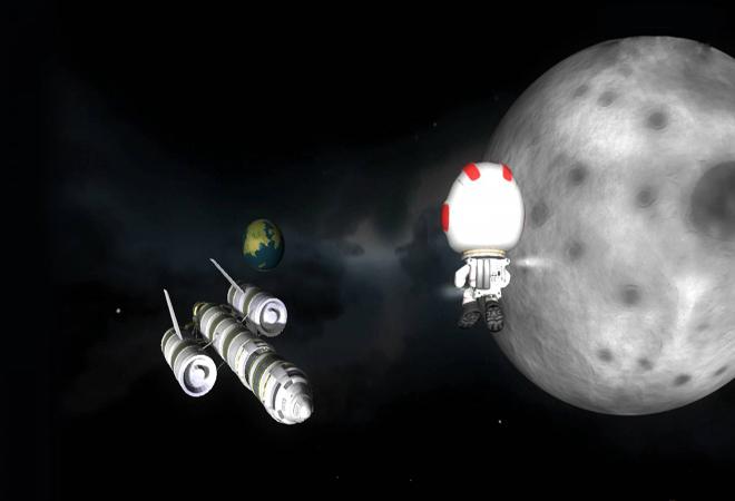 坎巴拉太空计划截图2