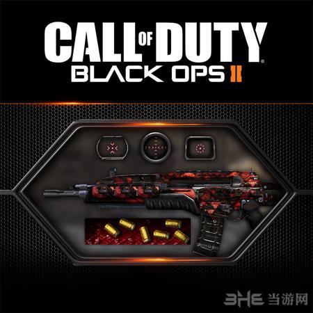 使命召唤9黑色行动2最新自定义升级包迷彩枪图片2