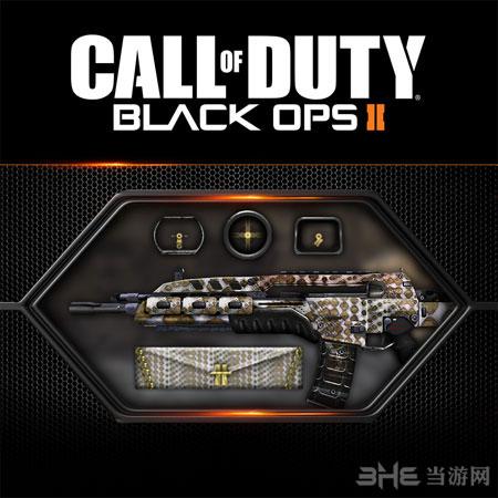 使命召唤9黑色行动2最新自定义升级包迷彩枪图片1