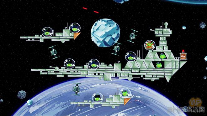 愤怒的小鸟星球大战主机版游戏截图2