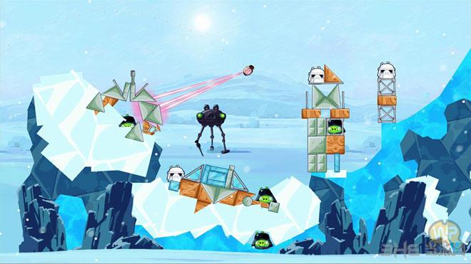 愤怒的小鸟星球大战主机版游戏截图3