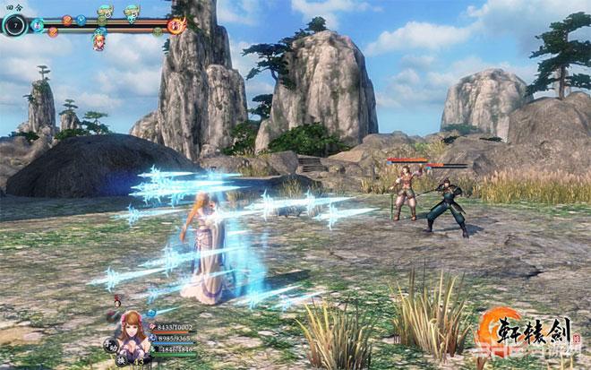 轩辕剑6新战斗系统奇术攻击