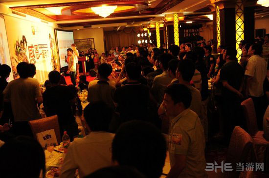 ChinaJoy2013我叫MT开发商卓越游戏玩家盛宴3
