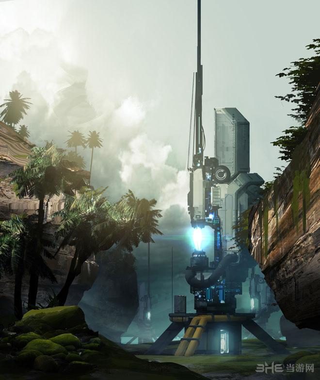 光晕4最新DLC游戏设定图