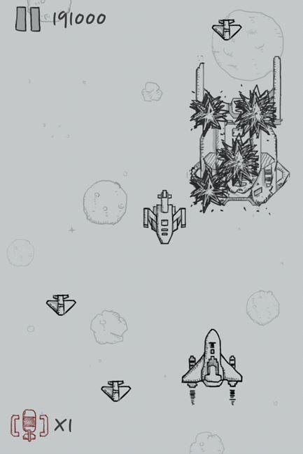 【游戏介绍】   经典飞机大战电脑版是一款来自手机平台的飞行射击游戏,该游戏出自微信之手,可想而知凭着微信的号召力这款游戏可说是一夜爆红,游戏中玩家控制一架会自动发射子弹的飞机不停得击落飞来的敌机。   该游戏的画面使用简单的素描风格,感觉上像在一幅画中展开激烈的空战,虽说是空战其实就是不断的控制方向避开敌机然后尽量打掉更多的飞机,不过游戏中还有一些额外辅助系统,在空中偶尔会掉落一些弹药跟炸弹的补给,前者可以让单发的射击方式改变为双发射击,后者就是我们通常称为的大招可以轰掉整个屏幕中所有敌机。   电脑