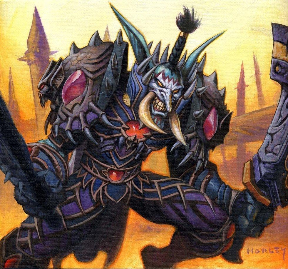 魔兽世界集换式卡牌模式封面展示