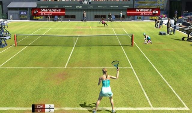 虚拟网球3截图1