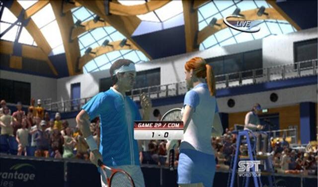 虚拟网球3截图3