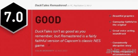 唐老鸭历险记重制版IGN简评