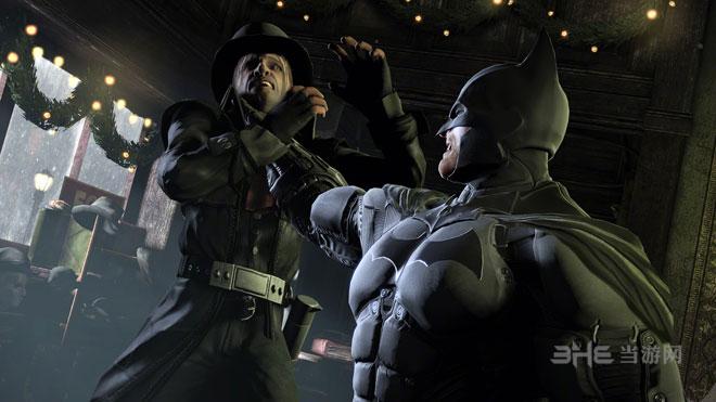 蝙蝠侠阿卡姆起源最新游戏截图
