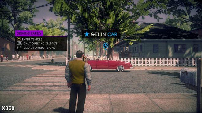 黑道圣徒4三大渠道画质比照Xbox360