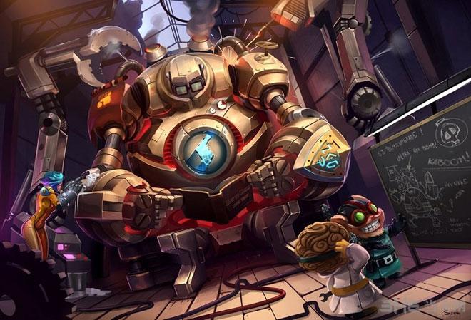 英雄联盟玩家手绘图片欣赏