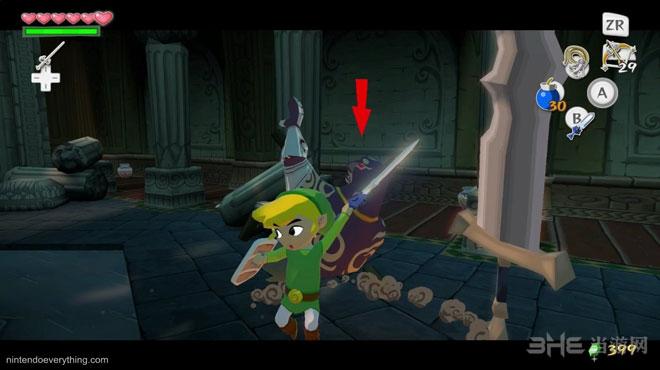 塞尔达传说风之杖HD游戏截图2