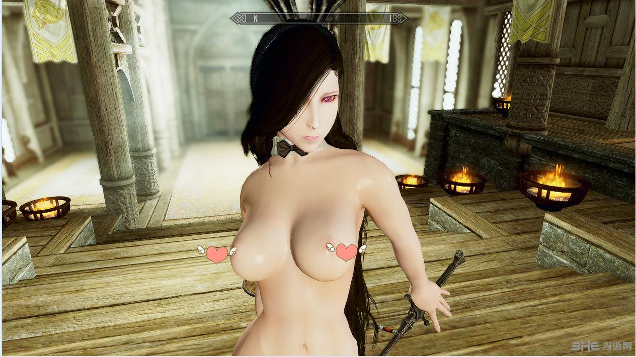 游戏mod → 上古卷轴5天际绅士向从不穿衣服的女孩