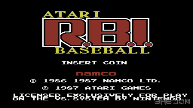 VS雅达利RBI棒球截图0