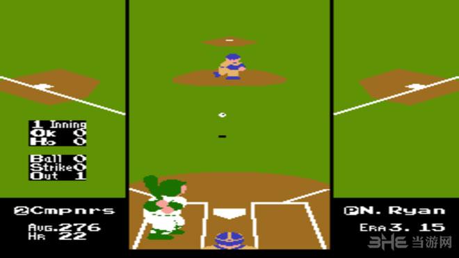 VS雅达利RBI棒球截图2