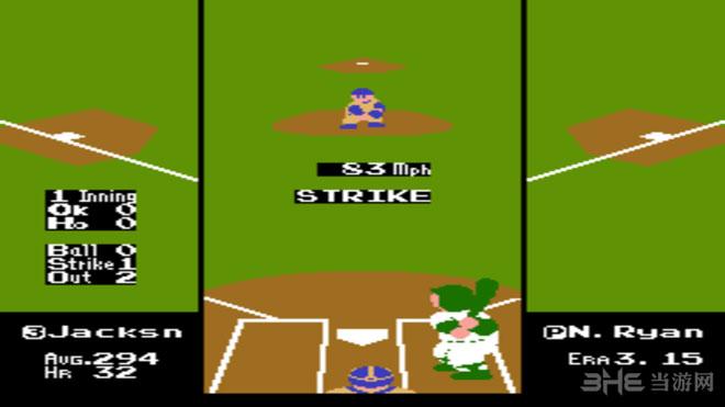 VS雅达利RBI棒球截图3