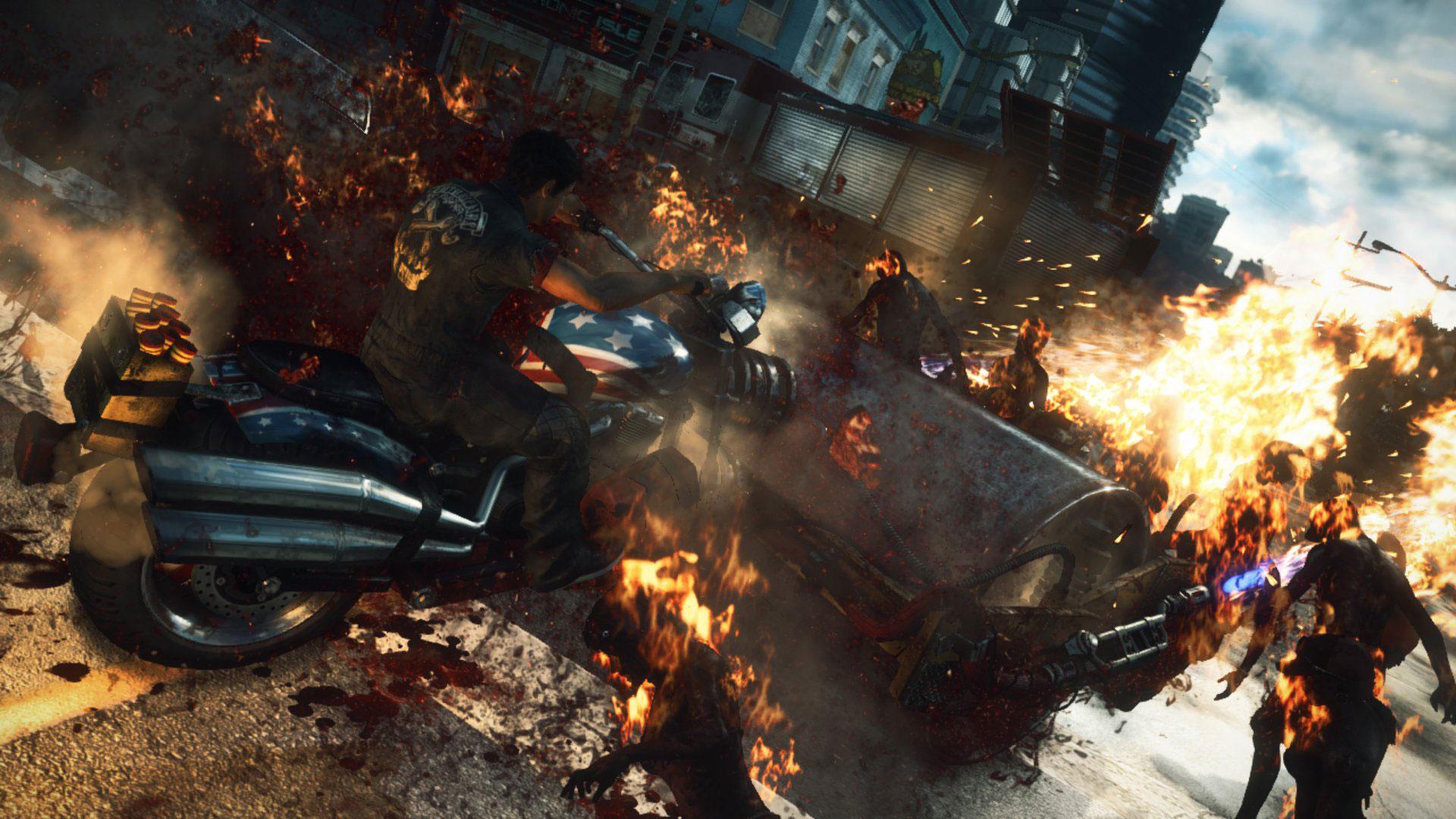 丧尸围城3最新游戏截图 XboxOne的独占神话