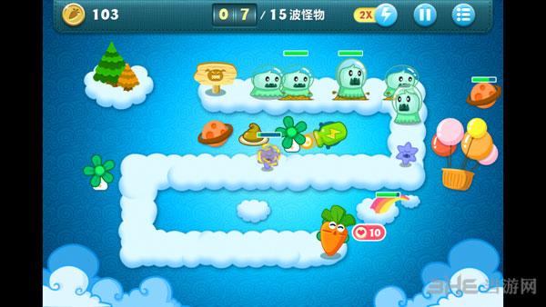 适合中秋节的游戏保卫萝卜2