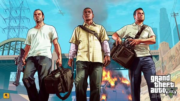 GTA5游戏三大主角